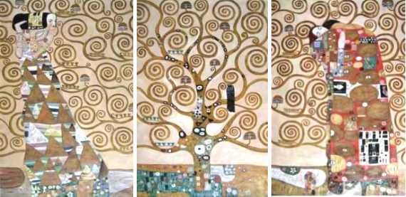 Reproduktionen nach Gustav Klimt